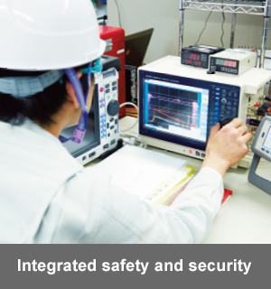 Integrated safety and security