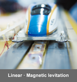 Linear Magnetic levitation