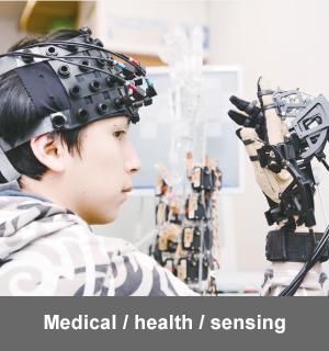 Medical / health / sensing