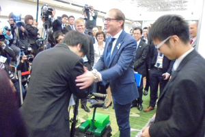 Minister Dobrindt (Germany) at G7 con. in Karuizawa