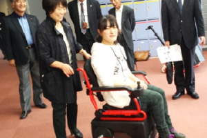 Development of wheelchair for care