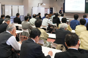 Lecture course for local industry engineers