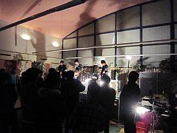 軽音楽部のライブも盛り上がります