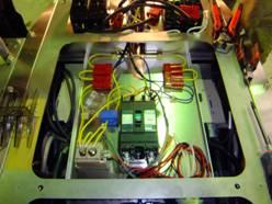 電装系も自分達で組み立てました。