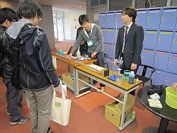 研究室公開の様子(2)