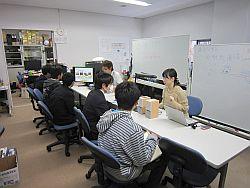 研究室公開の様子(1)