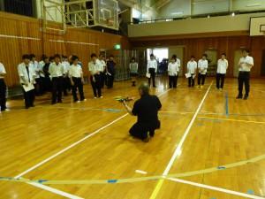 岡谷工業高等学校との連携授業3