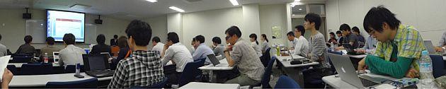 武田駿君発表時の学会会場の様子
