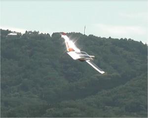 ソーラープレーン4号機の初飛行