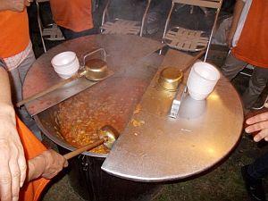 スープの調理風景1