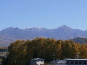 八ヶ岳(初冠雪)