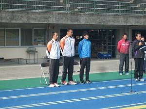 日本の現役トップ選手の3人です