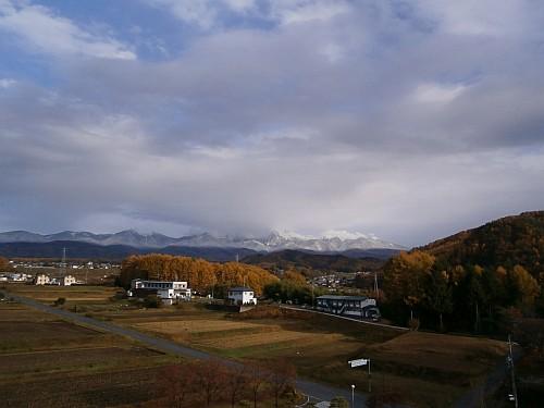 八ヶ岳&紅葉&雪