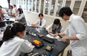 光通信装置の電子工作