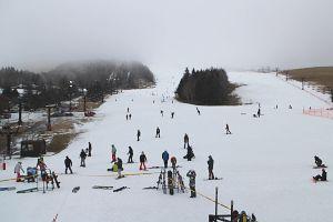 スキー場はあいにくの状況でした